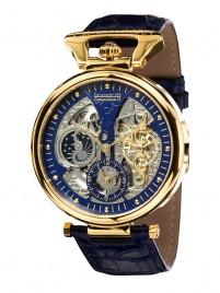 Poza ceas Calvaneo 1583 Compendium II Gold Blue