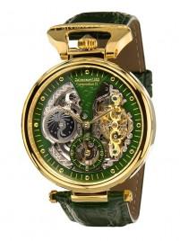 Poza ceas Calvaneo 1583 Compendium II Gold Green