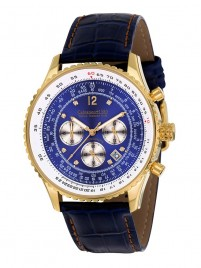 Poze Ceas barbatesc Calvaneo 1583 Defcon Diamond Blue Gold