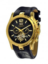 Poza ceas Calvaneo 1583 Density Gold Black