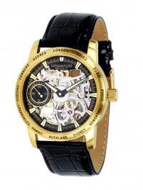 Poza ceas Calvaneo 1583 Squelette II Gold