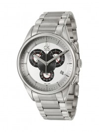 Poza ceas Calvin Klein Basic Chrono Steel Black 3