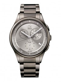 Poze ceas Calvin Klein Basic Chrono Steel PVD