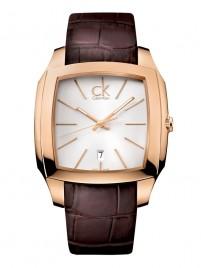 Poza ceas Calvin Klein Recess Rosegold Silver