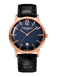 Poze Ceas Cornavin Bellevue Rose Gold Blue