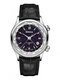 Poze Ceas barbatesc Doxa Blue Planet GMT Steel