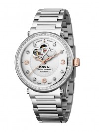 Poza ceas Doxa Calex Lady Diamond Steel