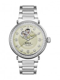 Poza ceas Doxa Calex Lady Diamond Steel 2