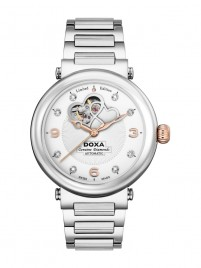 Poza ceas Doxa Calex Lady Diamond Steel 3