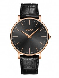 Poze Ceas barbatesc Doxa D-Light Rosegold Black