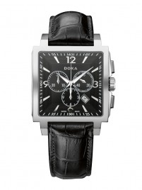 Poze Ceas barbatesc Doxa Quadro II Chrono Steel Black