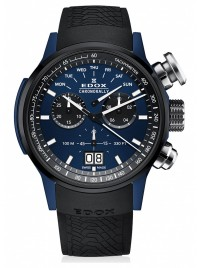 Poza ceas Edox Chronorally Chronograph Big Date 38001 TINBU1 BUIB1