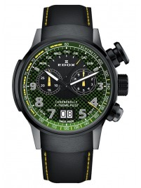 Poza ceas Edox Chronorally Xtreme Pilot Limited Edition Chronograph Quarz 38001 TINGN V3