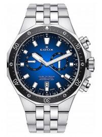 Poze Ceas barbatesc Edox Delfin Chronograph Date Qiarz 10109 3M BUIN