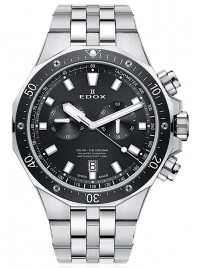 Poze Ceas barbatesc Edox Delfin Chronograph Date Quarz 10109 3M NIN