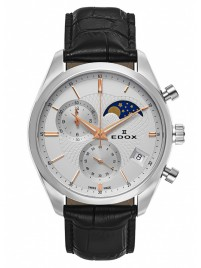 Poza ceas Edox Les Vauberts Chronograph Mondphase Date