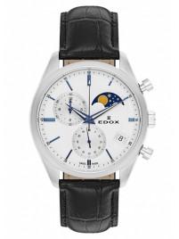 Poze Ceas barbatesc Edox Les Vauberts Chronograph Mondphase Date Quarz 01655 3 AIBU