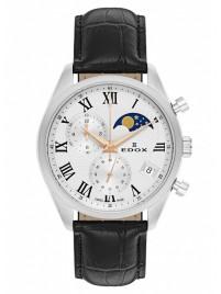 Poze Ceas barbatesc Edox Les Vauberts Chronograph Mondphase Date Quarz 01655 3 ARR
