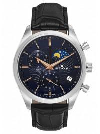 Poze Ceas barbatesc Edox Les Vauberts Chronograph Mondphase Date Quarz 01655 3 BUIR