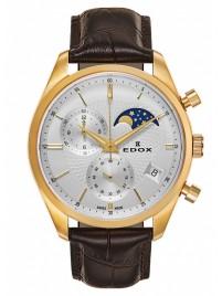 Poze Ceas barbatesc Edox Les Vauberts Chronograph Mondphase Date Quarz 01655 37J AID