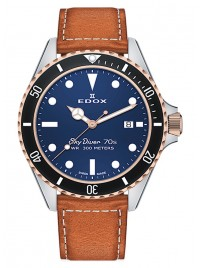 Poze Ceas barbatesc Edox SkyDiver 70s Date Date Quarz 53017 357RNC BUI