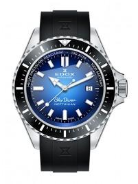 Poze Ceas barbatesc Edox SkyDiver Neptunian Date Automatic 80120 3NCA BUIDN