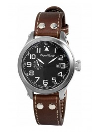 Poze Ceas barbatesc Engelhardt James Steel Black Brown Leather