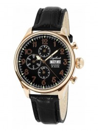 Poze Ceas barbatesc Engelhardt Robert Rose Gold Black