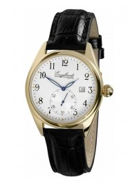 Poze Ceas barbatesc Engelhardt William Gold Black Leather
