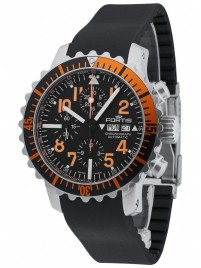 Poze Ceas barbatesc Fortis Aquatis Marinemaster Chronograph Orange 671.19.49 K
