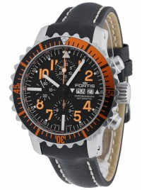 Poze Ceas barbatesc Fortis Aquatis Marinemaster Chronograph Orange 671.19.49 L.01