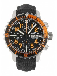 Poze Ceas barbatesc Fortis Aquatis Marinemaster Chronograph Orange 671.19.49 LP