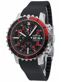 Poze Ceas barbatesc Fortis Aquatis Marinemaster Chronograph Red 671.23.43 K