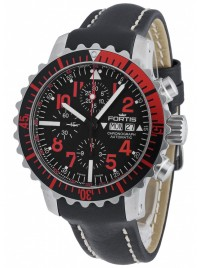 Poze Ceas barbatesc Fortis Aquatis Marinemaster Chronograph Red 671.23.43 L.01