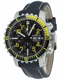 Poze Ceas barbatesc Fortis Aquatis Marinemaster Chronograph Yellow 671.24.14 L.01