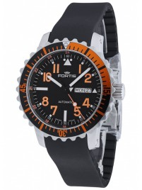 Poze Ceas barbatesc Fortis Aquatis Marinemaster DayDate Orange 670.19.49 K