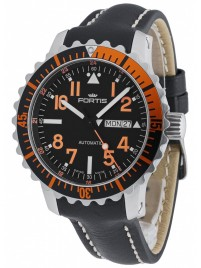 Poze Ceas barbatesc Fortis Aquatis Marinemaster DayDate Orange 670.19.49 L.01