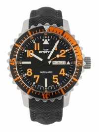 Poze Ceas barbatesc Fortis Aquatis Marinemaster DayDate Orange 670.19.49 LP