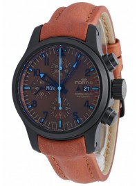 Poze Ceas barbatesc Fortis B42 Blue Horizon Chronograph PVD Limited Edition 656.18.95 L.38