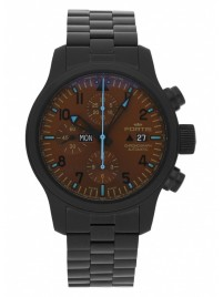 Poze Ceas barbatesc Fortis B42 Blue Horizon Chronograph PVD Limited Edition 656.18.95 M