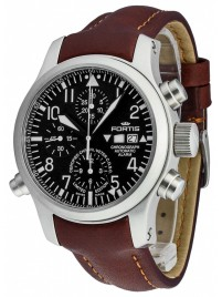 Poze Ceas barbatesc Fortis B42 Flieger Alarm Chronograph Limited Edition COSC 657.10.11 L.18