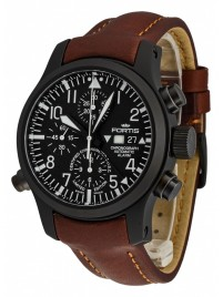 Poze Ceas barbatesc Fortis B42 Flieger Alarm Chronograph Limited Edition COSC 657.18.11 L.18