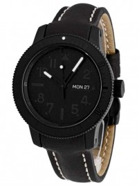 Poza ceas Fortis B42 Pitch Black DayDate Limited Edition 647.28.81 L01