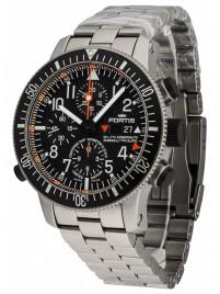 Poza ceas Fortis Cosmonauts Titanium Alarm Chronograph Limited Edition COSC 660.27.11 M