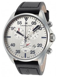 Poze Ceas barbatesc Hamilton Khaki Aviation Chronograph Date Quarz H76712751