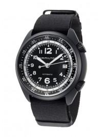 Poze Ceas barbatesc Hamilton Khaki Aviation Pilot Pioneer Aluminium Date Automatic H80485835
