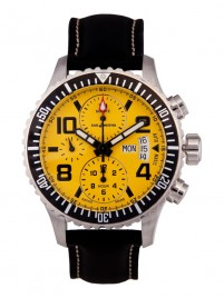 Poze Ceas barbatesc Karl Breitner Aviator Steel Yellow