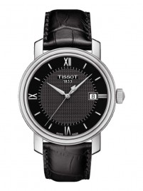 Poze Ceas barbatesc Tissot Bridgeport Gent Steel Black