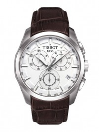 Poze Ceas barbatesc Tissot Couturier Quartz Chronograph Leather 2