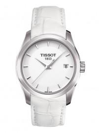 Poze Ceas de dama Tissot Couturier Quartz Lady Steel White